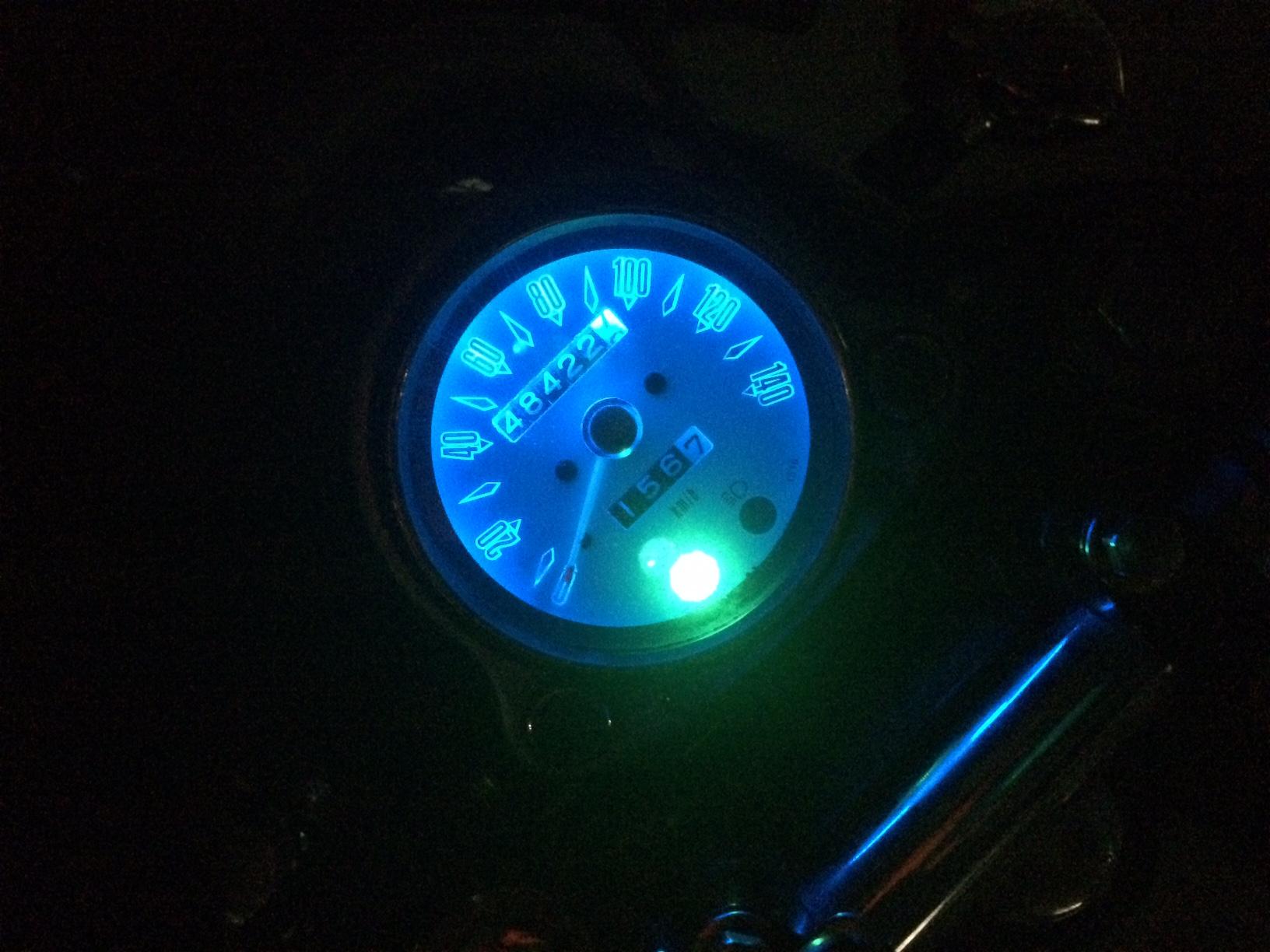 メーター内照明LED化